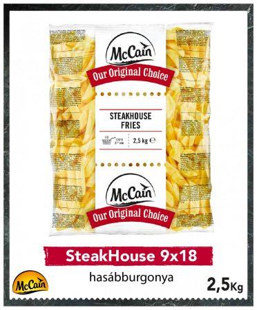McCain SteakHouse 9x18 [2.5kg]