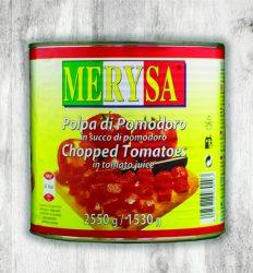 Daniela - Hámozott darabolt paradicsom [g]