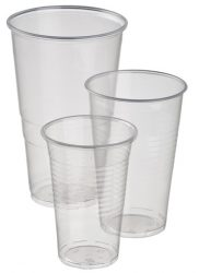 Műanyag pohár 3dl [100db]