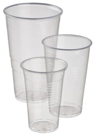 Műanyag pohár 5dl [75db]