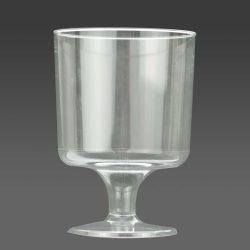Boros pohár 190ml talpas [16db]