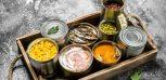 Konzervipari termékek, befőttek, savanyúság